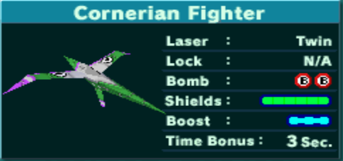 Cornerian Fighter of Krystal