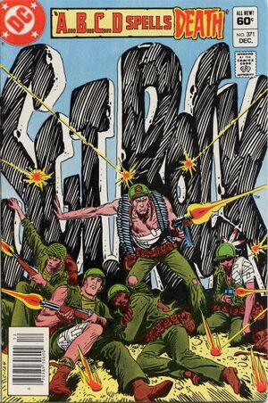 Cover for Sgt. Rock #371