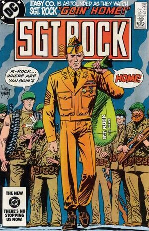 Cover for Sgt. Rock #392