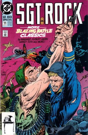 Cover for Sgt. Rock Special #11