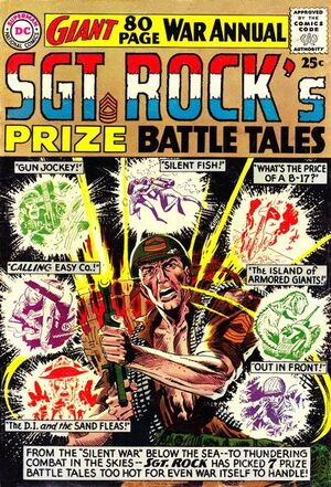 Cover for Sgt. Rock's Prize Battle Tales #1