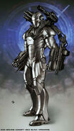 War Machine Movie Suit Concept 3