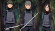The Three Takigakure Spies