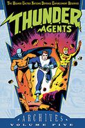 T.H.U.N.D.E.R. AGENTS Archives Vol 5