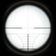 Default sniper scope reticle
