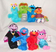 Sesame Street 40th Anniversary plush (Fisher Price)