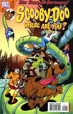 Cover for Scooby-Doo: Where Are You? #1