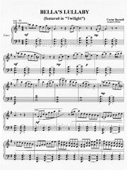 Bella&#39;slullaby-sheetmusic