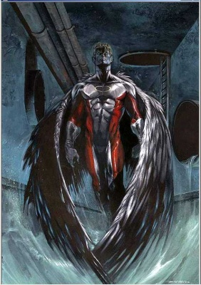 Angel - X-Men Wiki - Wolverine  Marvel Comics  OriginsX Men Angel Wings Scene