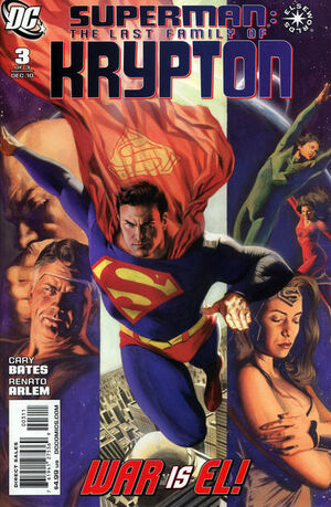 Cover for Superman: Last Family of Krypton #3