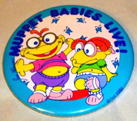 Muppet babies live 1986 pin