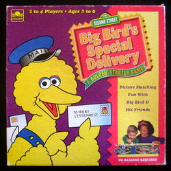Big Bird's Special Delivery (board game)