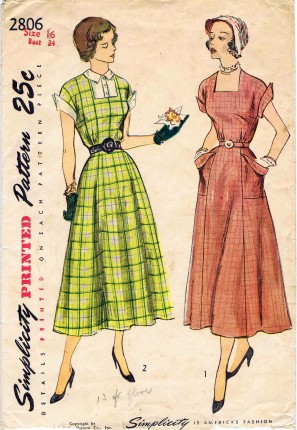 Simplicity 1949 2806