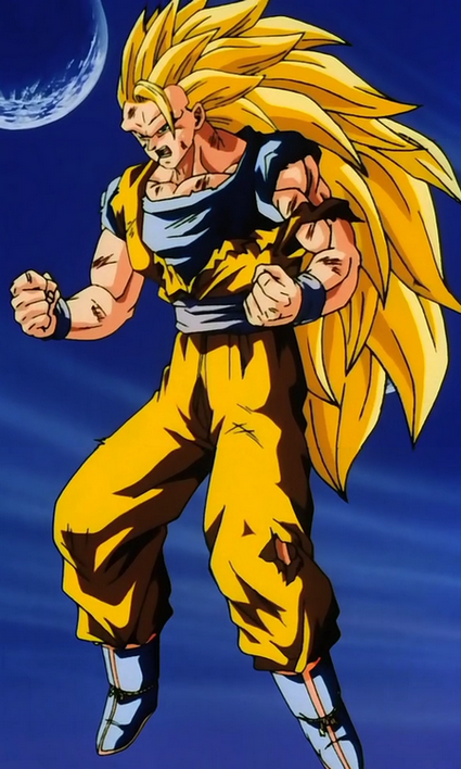 Super Saiyan 3 - Dragon Ball Wiki