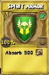 Spirit Armor Treasure Card