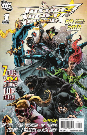Cover for JSA 80 Page Giant 2010 #1