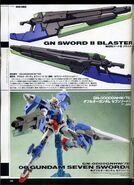 Gundam 00V Senki 00 Gundam Seven Sword GUN1