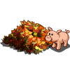 Leaf Pile Pig-icon