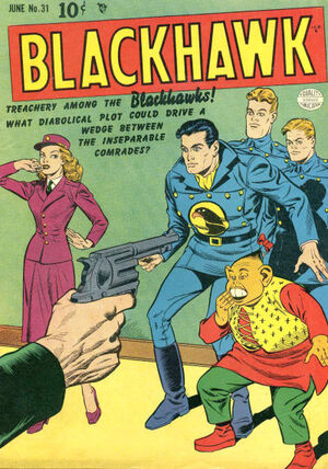 Cover for Blackhawk #31