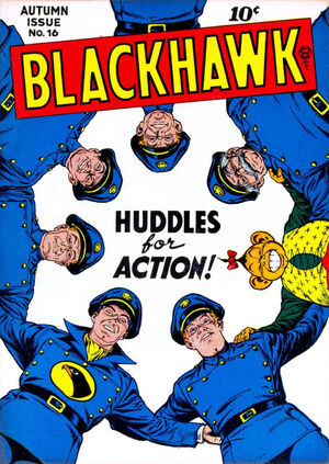 Cover for Blackhawk #16