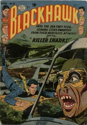 Cover for Blackhawk #50