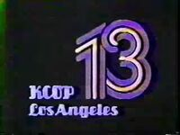KCOP Los Angeles ID 1977