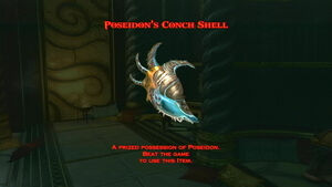 Poseidon's Conch Shell