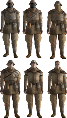 Ncr Trooper Uniform No Mutants Allowed