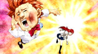 Erza beats Ichiya
