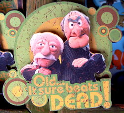 Disneyland statler waldorf magnet