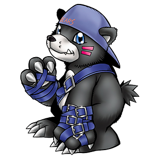 Digimon #035: Bearmon Bearmon_b