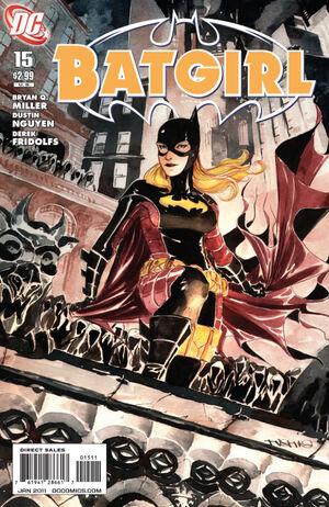 Cover for Batgirl #15