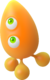 Orange Wisp - Sonic Colors Artwork - (1)