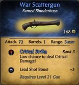 War scattergun