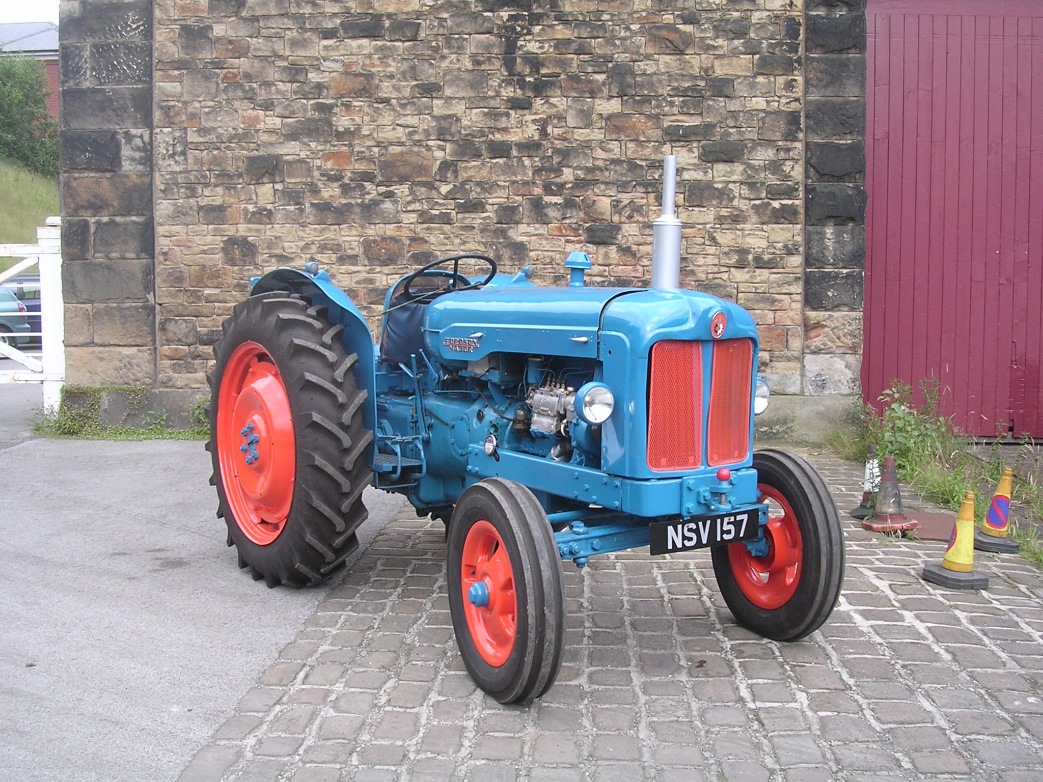 Featured on:Fordson E1A Major,