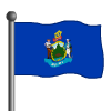Maine Flag-icon
