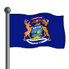 Michigan Flag-icon