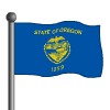 Oregon Flag-icon