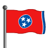 Tennessee Flag-icon