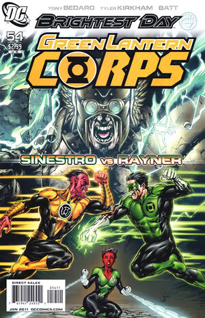Cover for Green Lantern Corps #54