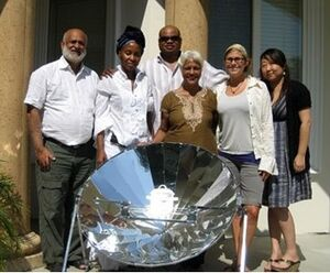 AMF family parabolic cooker photo