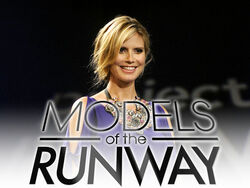 Models runway