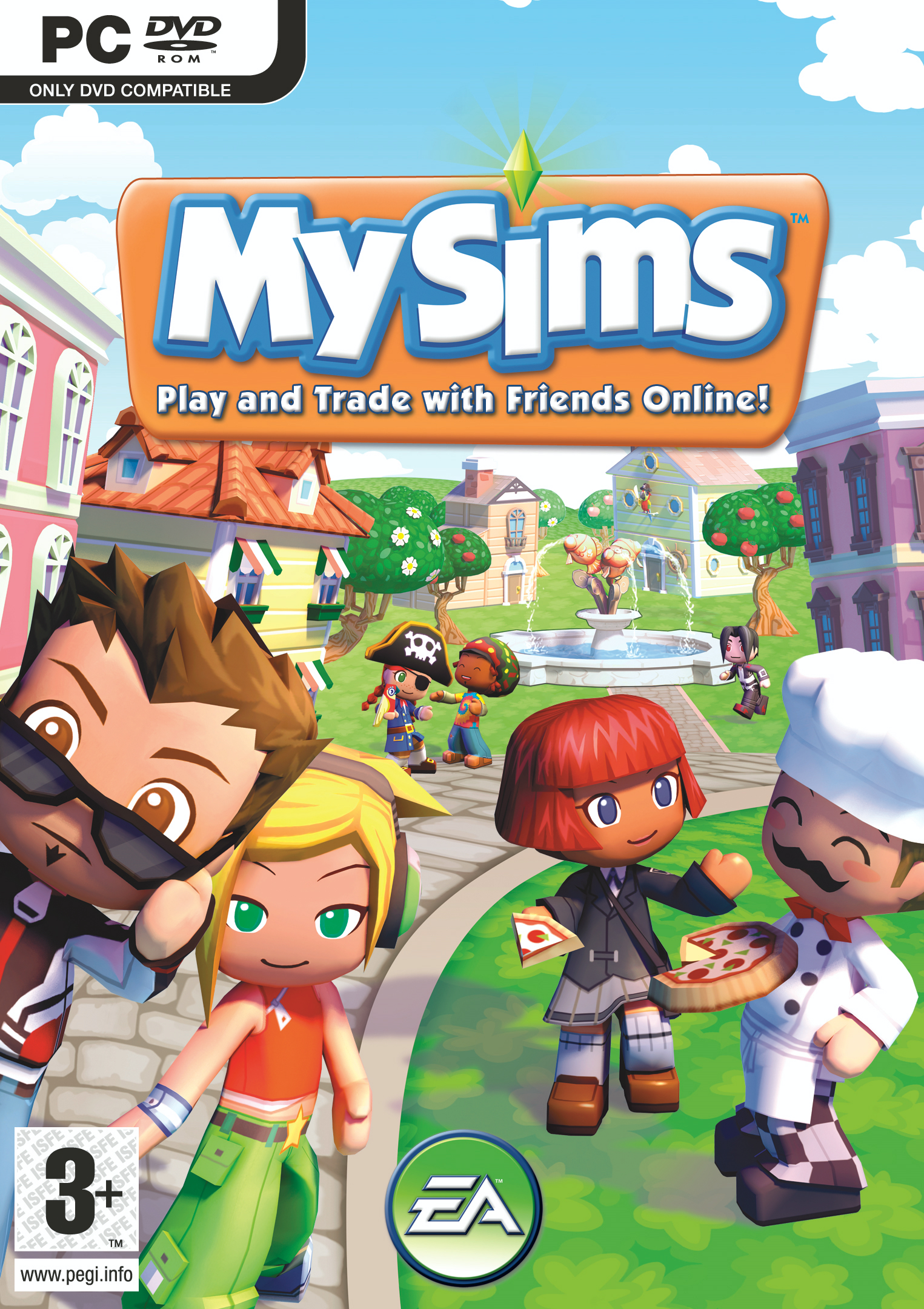 My Sims ( PC ) Jaquette_MySims_PC