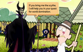 Skarr and Maleficent in TGAoKH.png