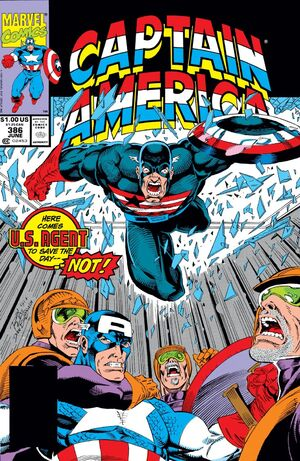 Captain America Vol 1 386