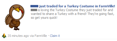 Turkey Costume Share