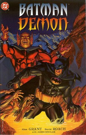 Cover for Batman: Demon #1