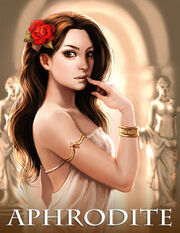 Aphrodite, Olympian goddess of love, passion, and beauty