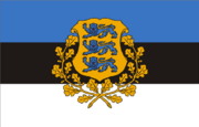 Estonian presidential flag