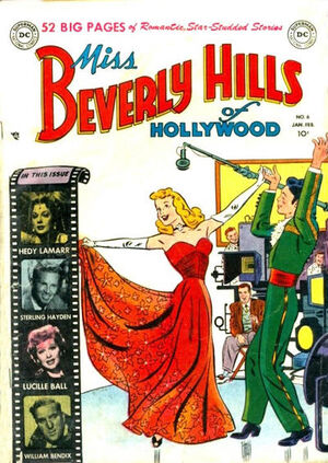 Cover for Miss Beverly Hills of Hollywood #6